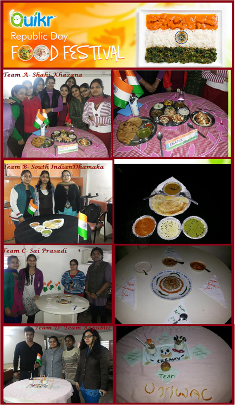 Republic Day at Quikr Delhi~