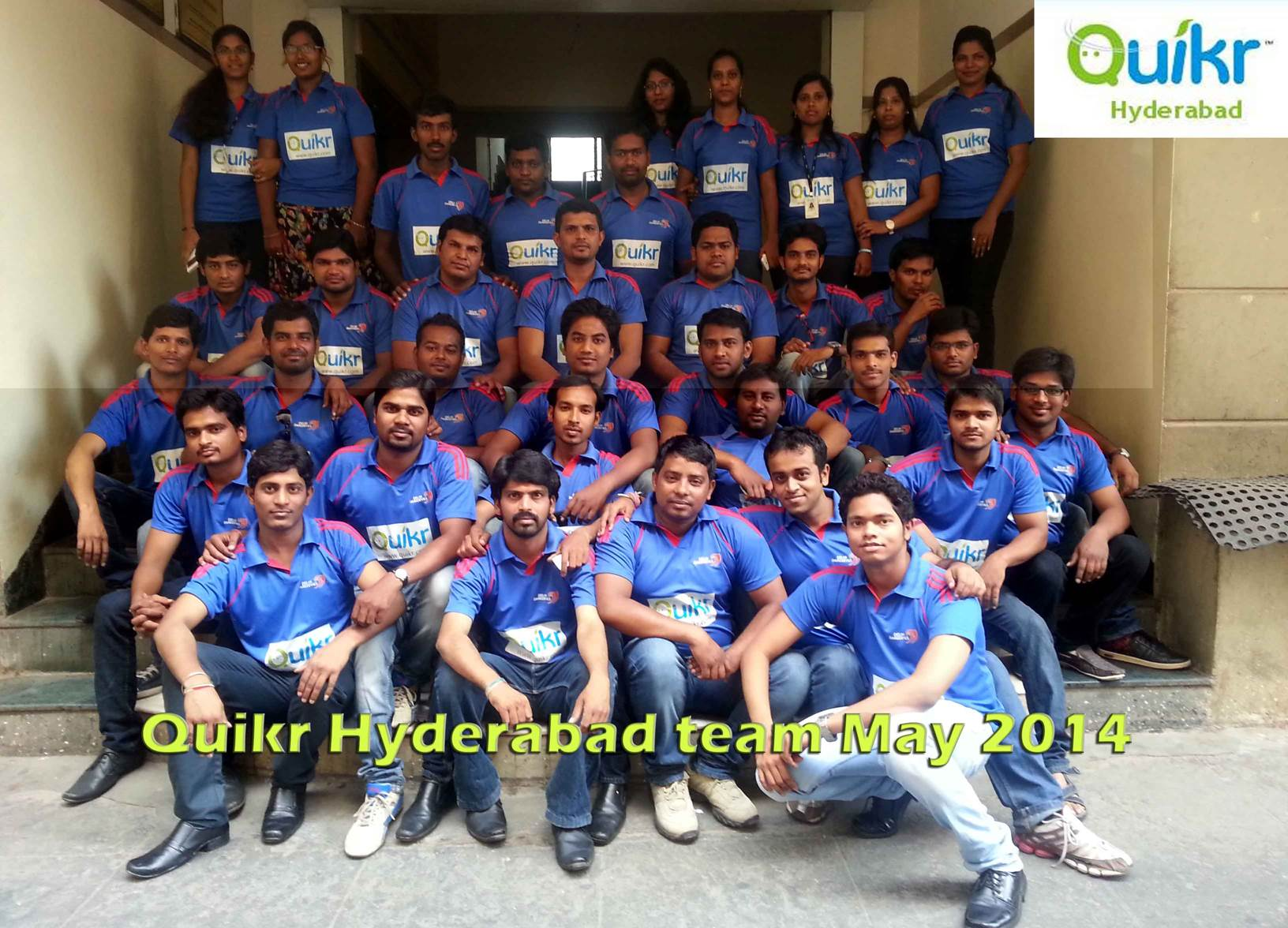 Quikr Hyderabad Team