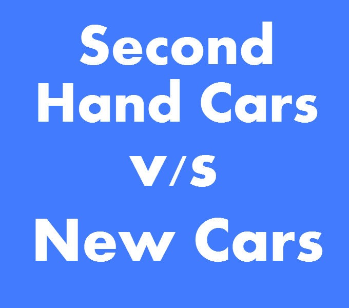 Secondhand cars vs new cars