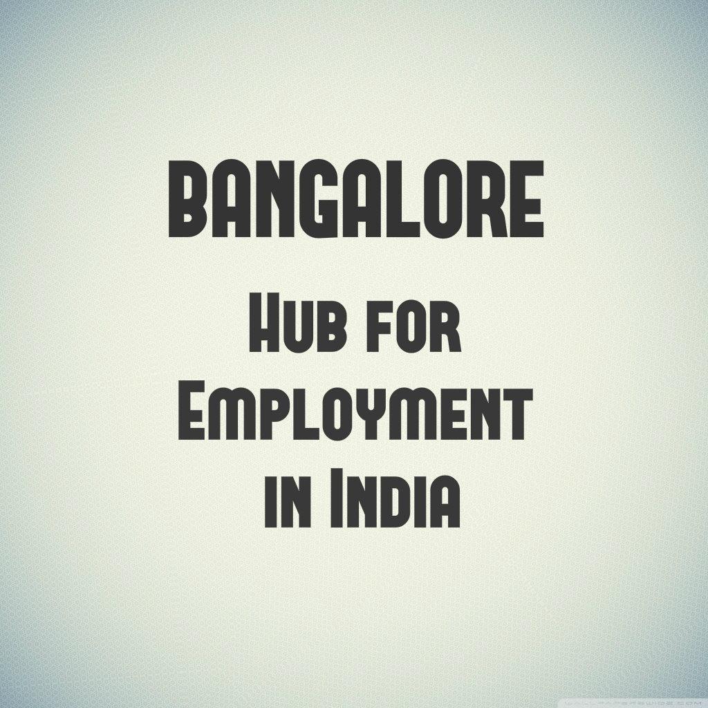 Jobs in Bnagalore