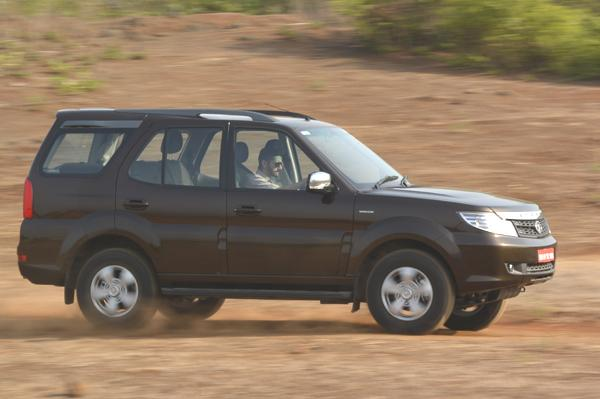 Facelift Tata Safari Storme