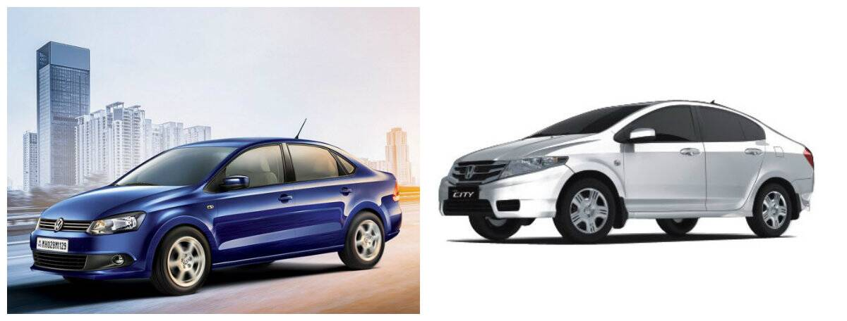 Honda City vs Vento