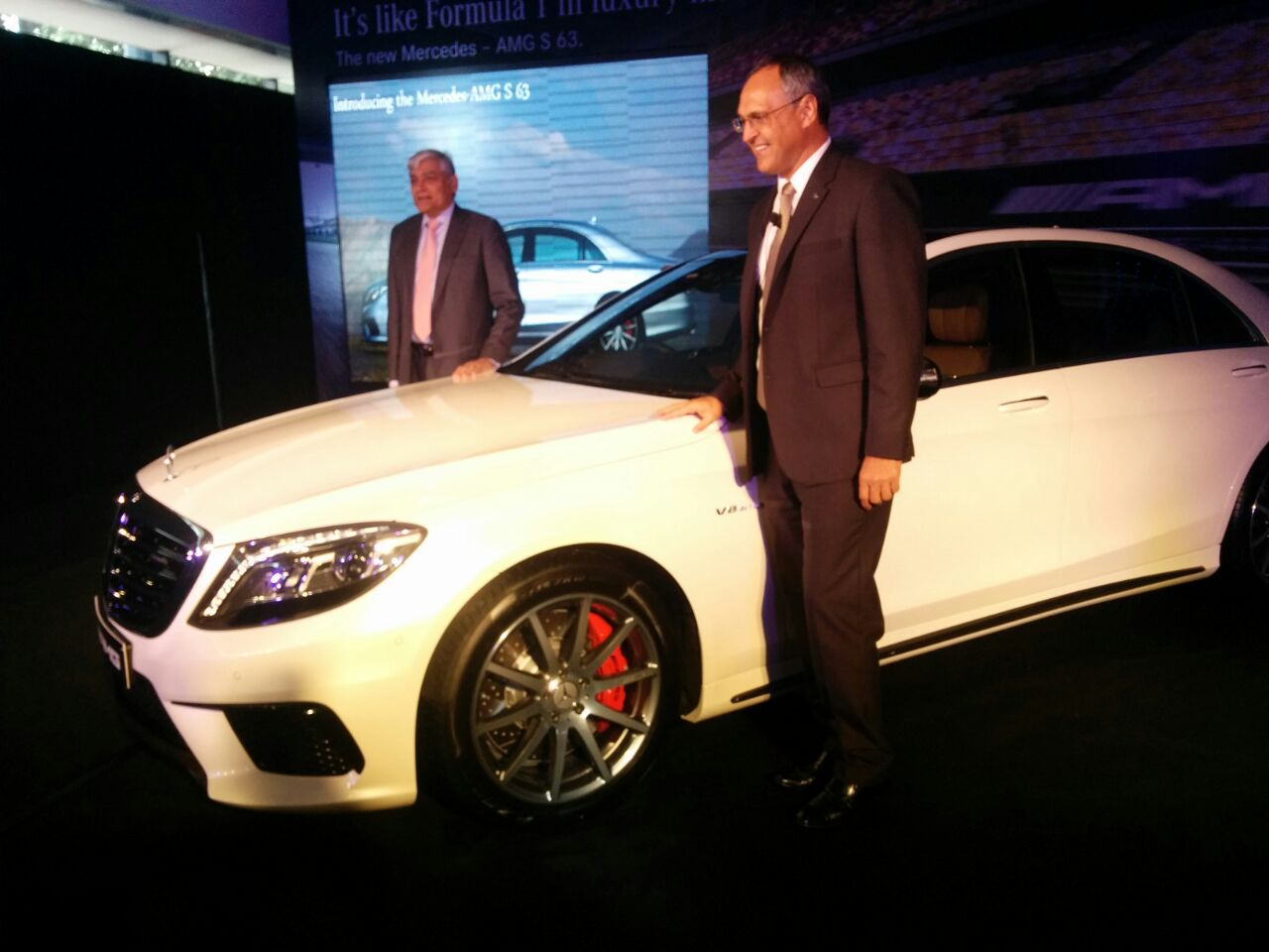 Mercedes launch