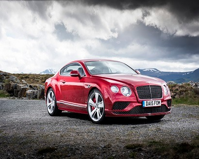 Bentley's facelifted Continental GT-410x328