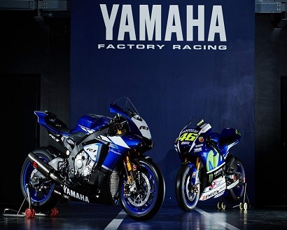 Yamaha WSBK machine with Yamaha M1!