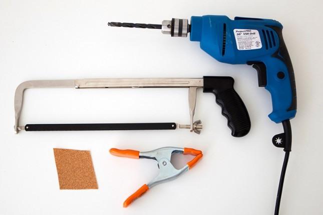 Hacksaw & Drills