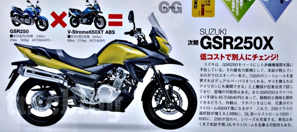 All new Suzuki V-Strom 250 rumoured