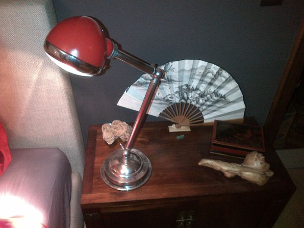 Headlight Table Lamp