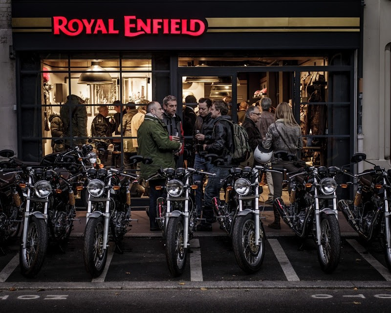 Royal Enfield Exclusive Stores in France and Spain - Quikr Blog