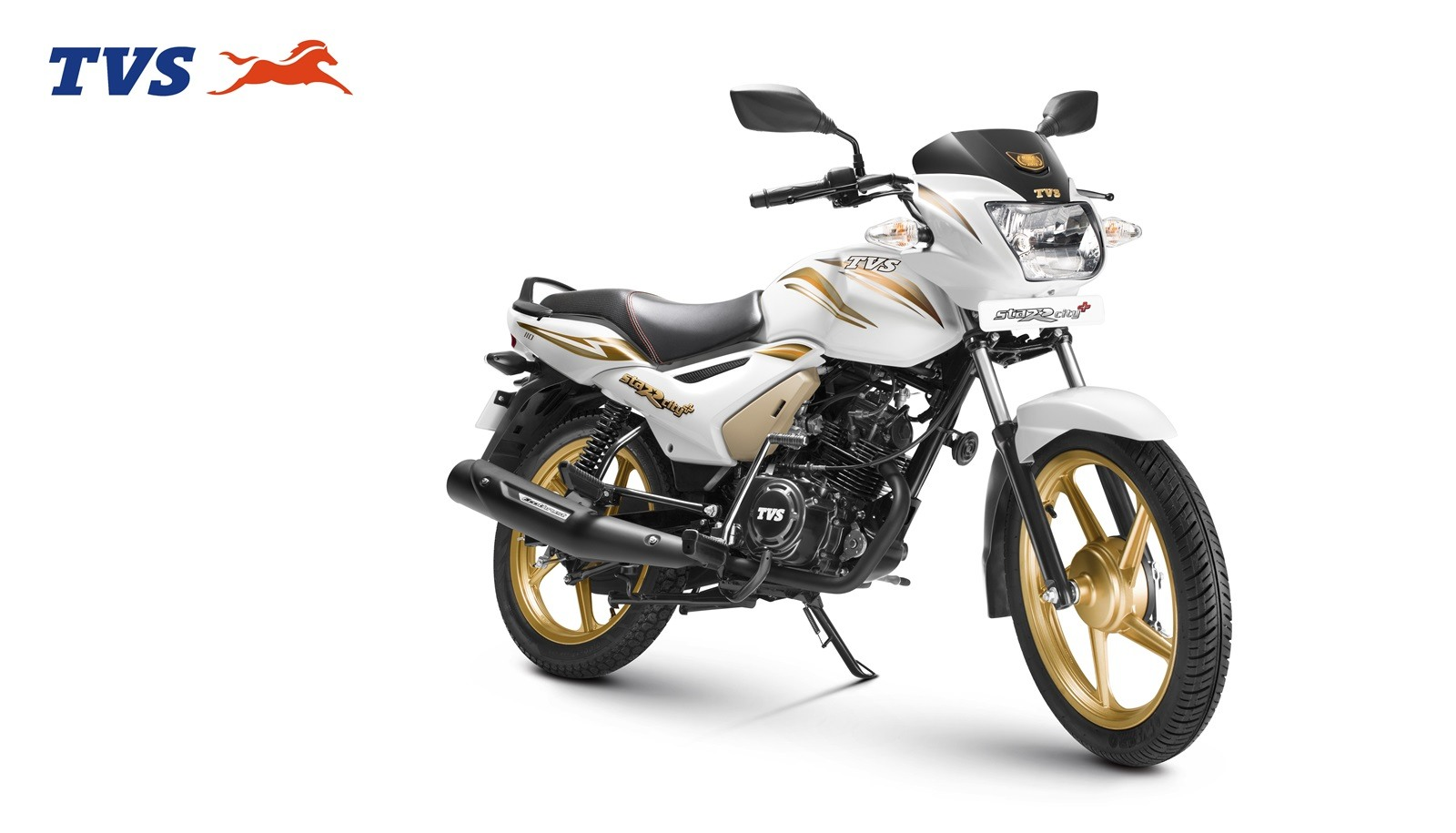 TVS StaRCity+ special gold edition