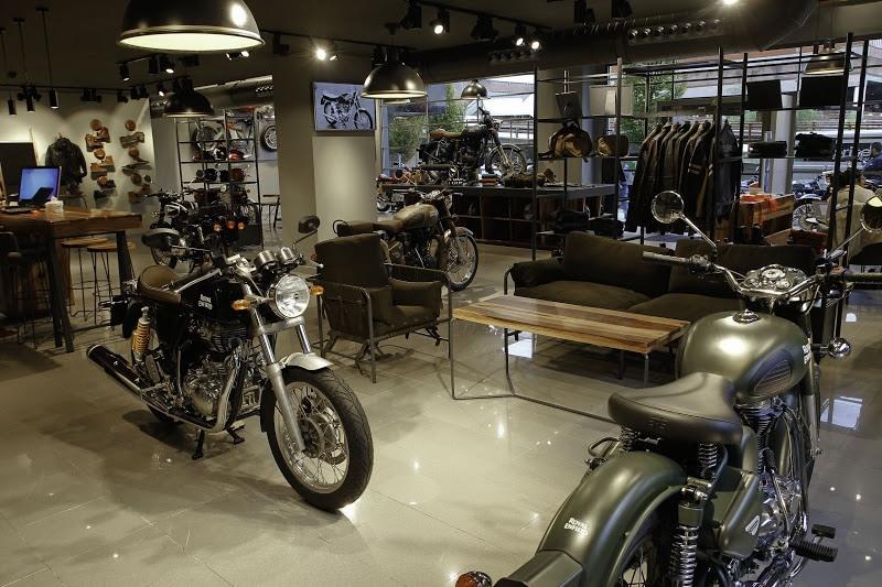 Tienda Royal Enfield Store Madrid