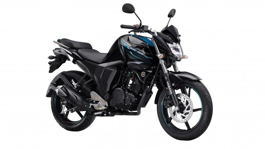 Yamaha FZ-S FI Viper Black colour option