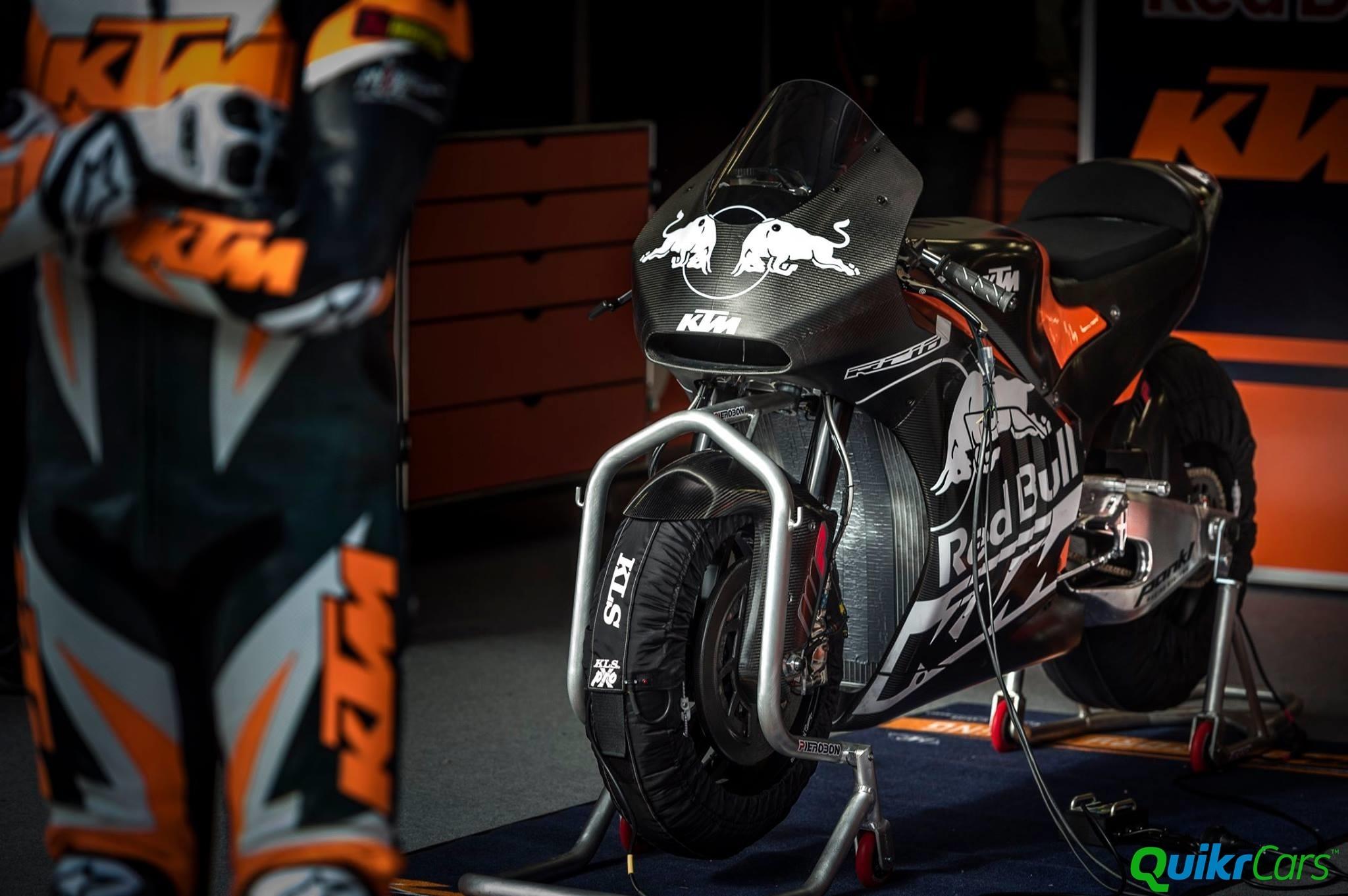 KTM RC16 MotoGP Bike Begins First Test - Quikr Blog