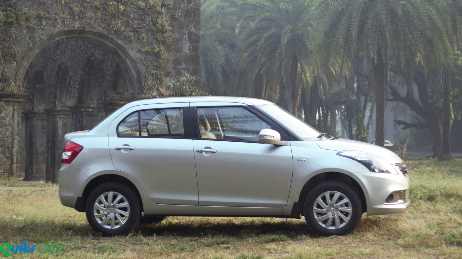 Maruti DZire - Side Shot - Stationary