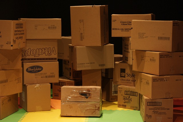 Liberate Your Cardboard boxes