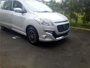 Suzuki-Ertiga-Dreza-silver-front-fascia-spied