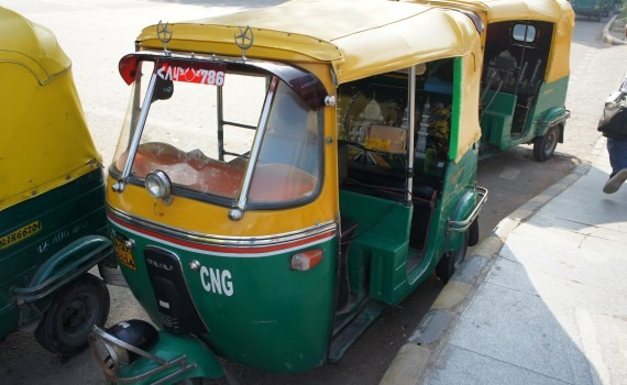 CNG vehicles in India
