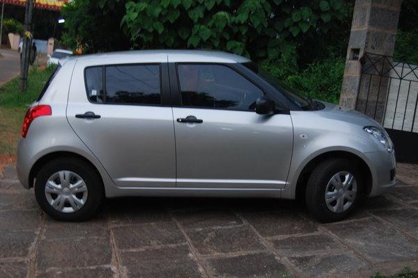 Tyre pressure Maruthi Suzuki Swift