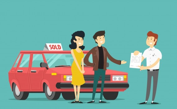 buy second hand car transfer documents