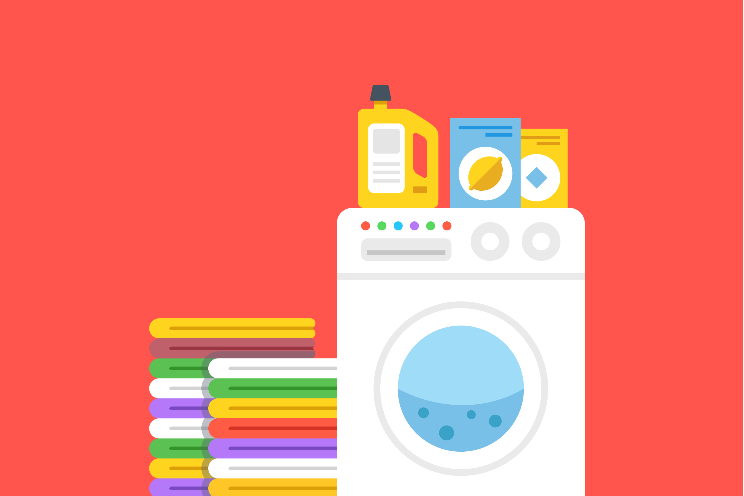 second-hand automatic washing machine