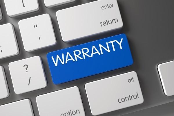 warranty card for washing machine